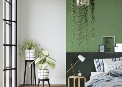 Linosa zelfklevend linoleum voor houten Ikea Frosta -Artek Stool E60 kruk